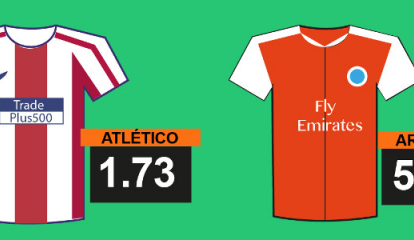 Semifinales de la Europa League. Atlético de Madrid - Arsenal